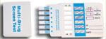 6 Drug Test Card (COC/mAMP/THC/OPI/PCP/MDMA)