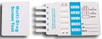 5-Drug Test Card (COC/AMP/THC/OPI/PCP)